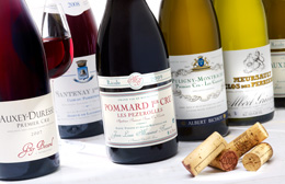 © BIVB / IMAGE & ASSOCIES Bottles of Burgundy wines